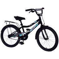 Велосипед дитячий Like2bike 20'' Fly чорний 212015