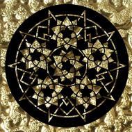 Плитка Grand Kerama Тако Сад золото рифлене 2055 8x8