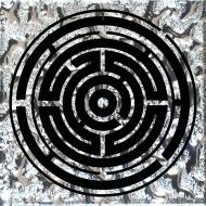 Плитка Grand Kerama Тако Лабіринт платина рифлене 2061 8x8