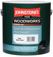 Лак для підлоги Quick Dry Polyurethane Floor Varnish Johnstone's глянець 2,5 л