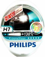 Лампа галогенна Philips X-treme VISION H7 PX26d 12 В 55 Вт 2 шт 3700 К