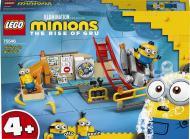 Конструктор LEGO Minions Міньйони в лабораторії Гру 75546