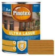 Деревозащитное средство Pinotex Ultra Lasur калужница глянец 1 л