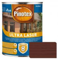 Деревозащитное средство Pinotex Ultra Lasur красное дерево глянец 1 л