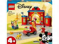 Конструктор LEGO Disney Mickey and Friend Пожежне депо й машина Міккі і його друзів 10776
