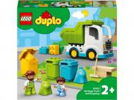 Конструктор LEGO DUPLO Сміттєвоз та сміттєпереробка 10945