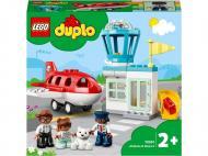 Конструктор LEGO DUPLO Літак і аеропорт 10961