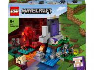 Конструктор LEGO Minecraft Зруйнований портал 21172