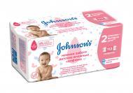 Дитячі вологі серветки Johnson's Baby Лагідна турбота 112 шт.