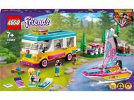 Конструктор LEGO Friends Лісовий будинок на колесах і яхта 41681