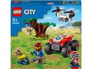 Конструктор LEGO City Квадроцикл для порятунку диких тварин 60300