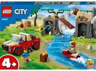 Конструктор LEGO City Позашляховик для порятунку диких тварин 60301