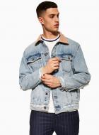Куртка TopMan CASUAL JKTS 64P10S-BLE р.S синий