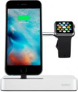 Док-станція Belkin Charge Dock для iWatch + iPhone (F8J183vfSLV)