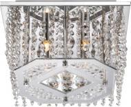 Люстра стельова Globo Crystal 4x33 Вт G9 хром 68551-4