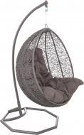Крісло-кокон Соло сірий 2837
