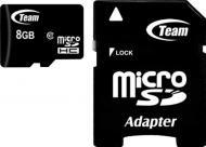 Карта пам'яті Team microSDHC 8 ГБ Class 10 (TUSDH8GCL1003)