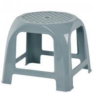 Табурет пластиковий Алеана Малятко 27x31,5x31,5 см сизо-блакитний