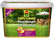 Добриво мінеральне Compo Floranid проти моху та бур'янів, 4,5 кг