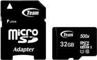 Карта памяти Team microSDHC 32 ГБ Class 10 (TUSDH32GCL10U03)