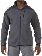 Куртка 5.11 Tactical Full Zip Sweater р. XXL Gun powder 72407
