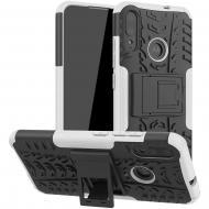 Чехол Armor Case для Motorola Moto E6 Plus White (arbc7308)