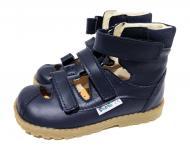 Туфлі ортопедичні для хлопчика MRUGALA р.25 чорно-синій
