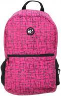 Рюкзак молодіжний YES Сompact Reflective R-09 рожевий (558506)