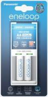 Зарядний пристрій Panasonic Compact Charger + Eneloop 2AA 1900 mAh