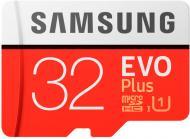 Карта пам'яті Samsung microSDXC 32 ГБ Class 10 (MB-MC32GA/RU) EVO Plus UHS-I