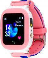 Смарт-часы AmiGo GO004 Splashproof Camera + LED pink