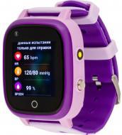 Смарт-часы AmiGo GO005 4G WIFI Thermometer purple