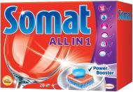 Таблетки для ПММ Somat All in 1 28 шт.