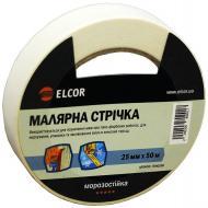Стрічка малярна Елкор 50 м х 25 мм TEM2550