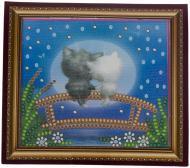 Хіт Набір для вишивання бісером Абрис Арт Місячні коти з магнітом AMА-090 1a4600e2409bf