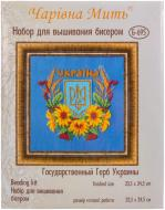 Набір для вишивання бісером Чарiвна мить Державний Герб України Б-695 7936fccb982a9
