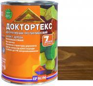 Лазурь ІРКОМ Доктортекс ИР-013 оливковый шелковистый мат 0,8 л