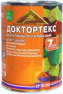 Лазурь ІРКОМ Доктортекс ИР-013 зеленый шелковистый мат 0,8 л
