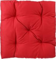 Подушка Indigo стеганая красная 40х40х8 см