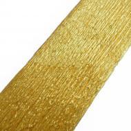 Папір креповий 20%, золотий перламутровий 50*200см