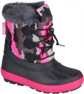 Сноубутсы Coqui Army 101109 р. 26/27 черно-розовый