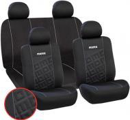 Комплект чохлів на сидіння MOMO Fodera Univ Premium SC008BG чорно-сірий