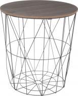 Стол-корзина Сканди 40х40х42 см черный