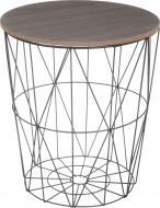 Стол-корзина Сканди 35х35х39 см черный