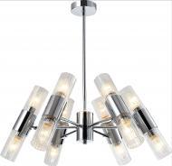 Люстра Accento lighting Bergamo 12x60 Вт E14 хром
