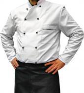 Китель повара Lux-Form P0127 классический с длинным рукавом р. 48 белый