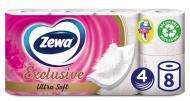 Туалетний папір Zewa Ultra Soft чотиришаровий 8 шт.