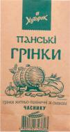 Грінки Панскі житньо-пшеничні часник 100 г (4820182743603)
