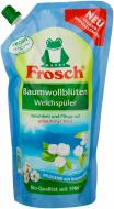 Кондиціонер для білизни Frosch Хлопковые цветы 1 л