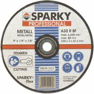 Круг відрізний по металу Sparky  230x3,0x22,2 мм
